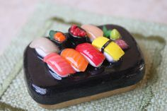 Polymer Clay sushi platter