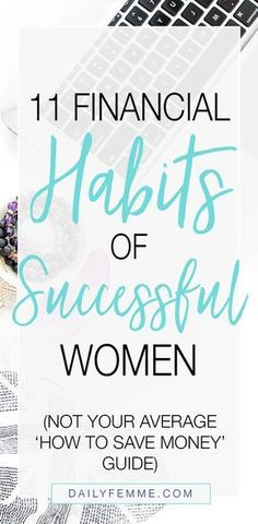 finance debt Being successful doesnt just happen overnight. there are lessons learned and skills developed including these 11 Financial Habits of Successful Women. Successful budgeting, successful planning and successfully controlling Financial Peace, Financial Goals, Financial Planning, Financial Budget, Financial Assistance, Ways To Save Money, Money Tips, Money Saving Tips, Money Budget