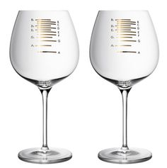 For those who are tone-deaf but love to entertain dinner guests, there are Musical Wine Glass. The musical wine glasses are etched with.