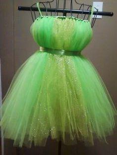 TInker Fairy Tutu Dress. just not green for flower girls