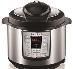 Instant Pot LUX60 V3 6-in-1 Multi-Use Programmable Pressure Cooker, 6 Qt | Stainless Steel