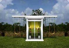 diy backyard swing set | Modern Swingset – Modern Outdoor Play – Modern Parenthood | Small ...
