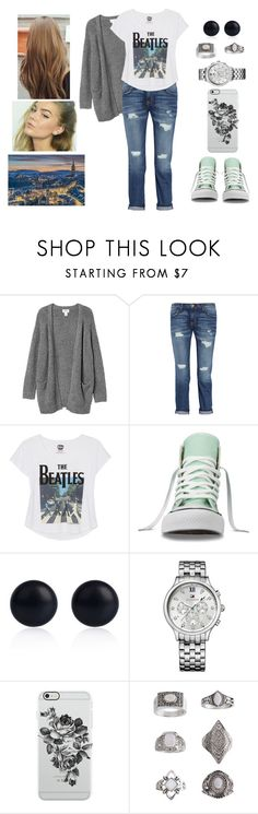 """""""Visiting Bern, Switzerland"""" by teodoramaria98 ❤ liked on Polyvore featuring Monki, Current/Elliott, Converse, River Island, Tommy Hilfiger, Uncommon and Topshop"""