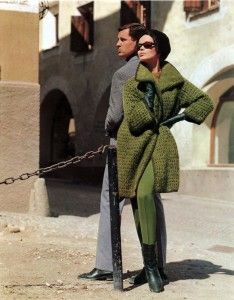 Vintage 1963 'Nonchalantly Smart' Mohair Sweater Knitting Pattern