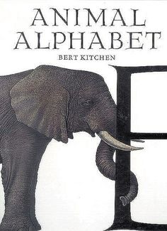 """Animal Alphabet"" - Bert Kitchen  (1984, Picture Books)"