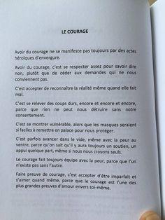 Définition du Courage