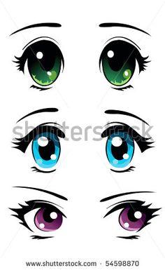 Many anime and manga characters feature large eyes . Osamu Tezuka , who is b., Many anime and manga characters feature large eyes . Osamu Tezuka , who is b. Many anime and manga characters feature large eyes . Cartoon Faces, Cartoon Drawings, Art Drawings, Realistic Eye Drawing, Manga Drawing, Doll Eyes, Rock Art, Painted Rocks, Painting & Drawing