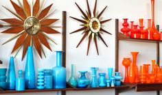 Gorgeous collection of cased glass!