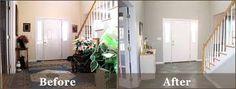Afbeeldingsresultaat voor home staging before after