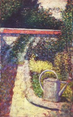 The Athenaeum - Watering Can (Georges Seurat - )