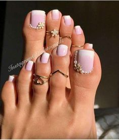 Toe nail art design ideas for summer