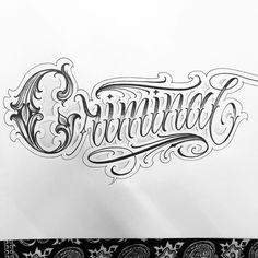 Tattoo Lettering Design, Chicano Lettering, Graffiti Lettering Fonts, Hand Lettering, Letter R Tattoo, Tattoo Fonts Alphabet, Tattoo Writing Styles, Writing Tattoos, Red Ink Tattoos