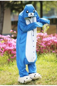 Blue Seal Onesie Animal Costumes