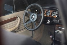 The BMW 2002 Tii Alpina is one of the rarest and quickest iterations of the venerable The 2002 itself is now regarded by many marque historians Bmw Vintage, Bmw 2002, Cabriolet, E30, Car Seats, Steering Wheels, Car Interiors, Cars, Garage