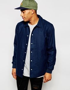 New Look Coach Jacket in Blue