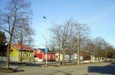 Kalevanpuiston kauniita omakotitaloja. - Kalevanpuisto's beautiful houses Western Coast, Finland, Denmark, Norway, Sweden, Beautiful Homes, Europe, Houses, Cabin