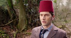 Ten and a fez.  Day of the Doctor.  Doctor Who.