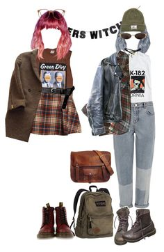 """Başlıksız #16"" by denix ❤ liked on Polyvore featuring WALL, Hai, ASOS, Levi's, The Kooples, Karen Millen, Laurence Doligé, Yves Saint Laurent, American Apparel and Dr. Martens"