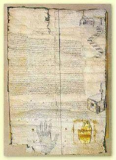 بالصورة وثيقة تاريخية نادرة: نص العهدة المحمدية من النبي محمد (ص) إلى المسيحيين !