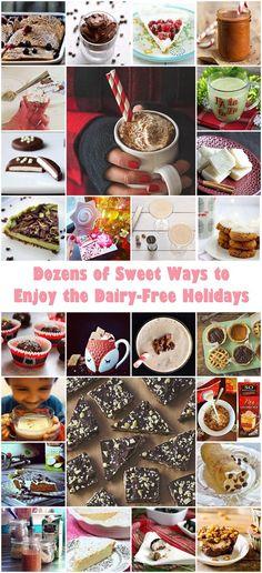Dozens of Sweet Ways to Enjoy the Dairy-Free Holidays including a Vegan Eggnog Pudding Recipe!