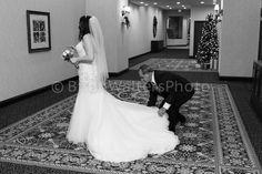 Bride prior to ceremony