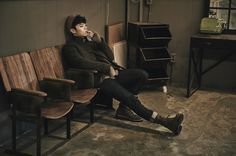 Eddy Kim is making a comeback with his mini album and concept images are released today.The romantic singer is looking dandy in his winter attire enough to melt fans heart and keep them warm. Eddy Kim, Urban Concept, Kim Sang, Kpop, Music Covers, Popular Music, Jonghyun, Classical Music