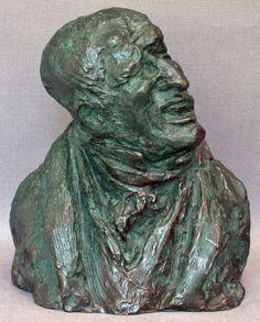 Honore-Victorin Daumier, Comte Charles-Louis Huguer de Semonville, 1832. Bronze.