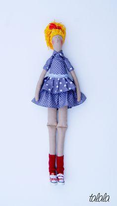 www.talala-lalki.pl lalka uszyta ręcznie  Talala lalki na zamówienie