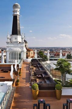 Start your day off right – on the roof. ME Madrid (Madrid, Spain) - Jetsetter