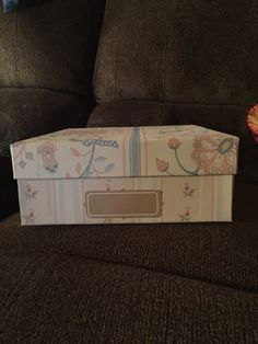 A personal favorite from my Etsy shop https://www.etsy.com/listing/259628155/shabby-chic-storage-box