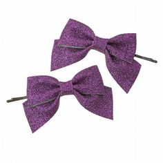 Topshop - Glitter Fabric Bows ❤ liked on Polyvore featuring accessories, hair accessories, fillers, purple, bows, glitter hair accessories, purple hair accessories, hair bow accessories and topshop