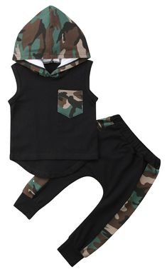 81a714b6761 SHOP Our Camo Hooded Tank Set for Baby