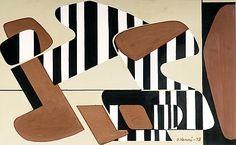 Sam Vanni 1908 - 1992 Finnish painter of Russian Jewish origin Sonia Delaunay, Nadir Afonso, Infused Water Bottle, Digital Museum, Collaborative Art, Fitness Gifts, Gouache Painting, Geometric Art, Op Art