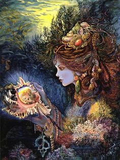 ''Daughter of the Deep'' Josephine Wall