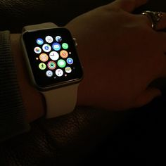 Loving my new Apple Watch but still trying to figure out what all it does! #youtubevideos #Apple #applewatchsport #christmas2015 by ericalcraig