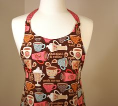Imogen - Perk Me Up Apron. $35.00, via Etsy.