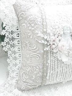 Delicate white lace......