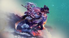 Download League of Legends Wallpaper Nidalee Diana Ziggs 1920x1080