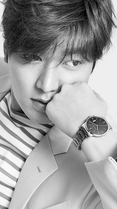 Lee Min Ho, Romanson watches.