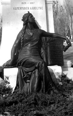 cemetery statue photographs | Cemetery Photography - Woman with Braids