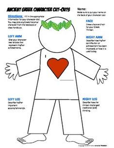 Students create their own cut out doll that shows accomplishments and ...