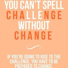 Challenges are good - Motivational Instagrams