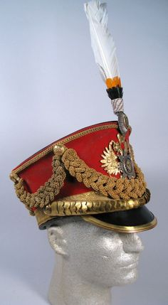 A RUSSIAN IMPERIAL MODEL 1910 PARADE SHAKO