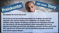 Einwandbehandlung mit einer Story! Zieh Dir die ganze Präsi rein unter: http://www.bottin.de/einwandbehandlung-zu-teuer/