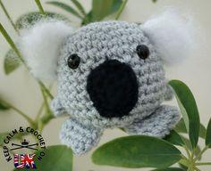 crochet koala pattern