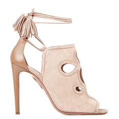 This AQUAZZURA with some skinny jeans and V cut top... love it