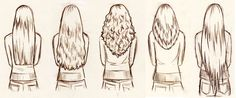 haselnussblond - eat♥braid♥love: Haarschnitte für langes Haar
