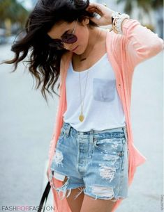 Simple stylish comfy for summer