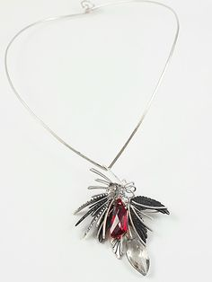 Design by Lilian Chen. Winged Girl, Girls Necklaces, Metal Beads, Chen, Flow, Charms, Wings, Sparkle, Pendant Necklace