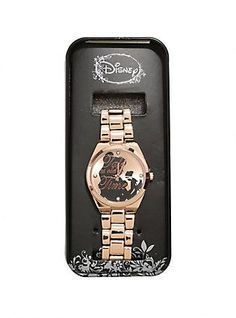 Disney Beauty And The Beast Belle Rose Gold Watch,